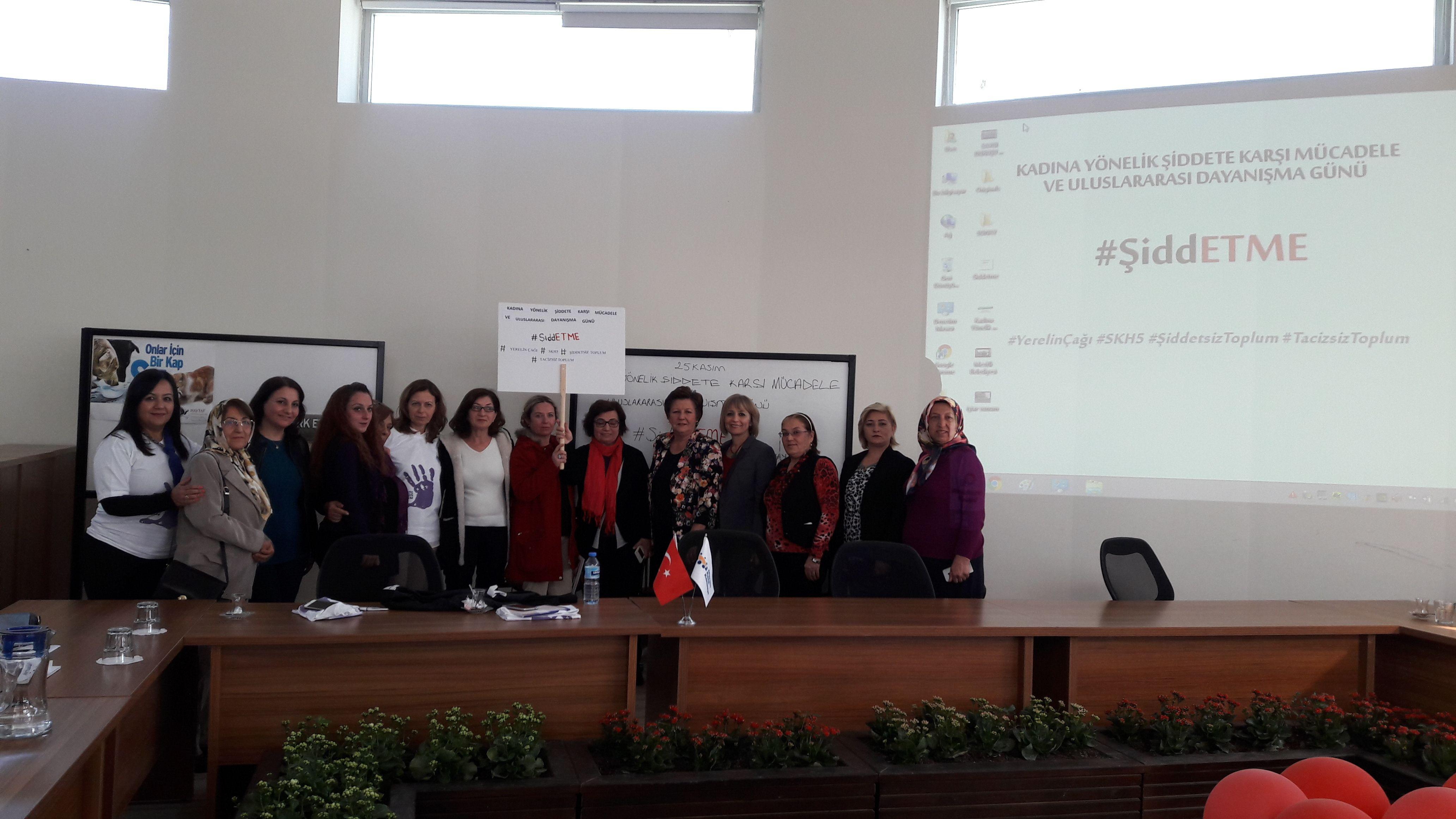 25 Kasım Kadına Yönelik Şiddete Karşı Mücadele ve Uluslararası Dayanışma Günü