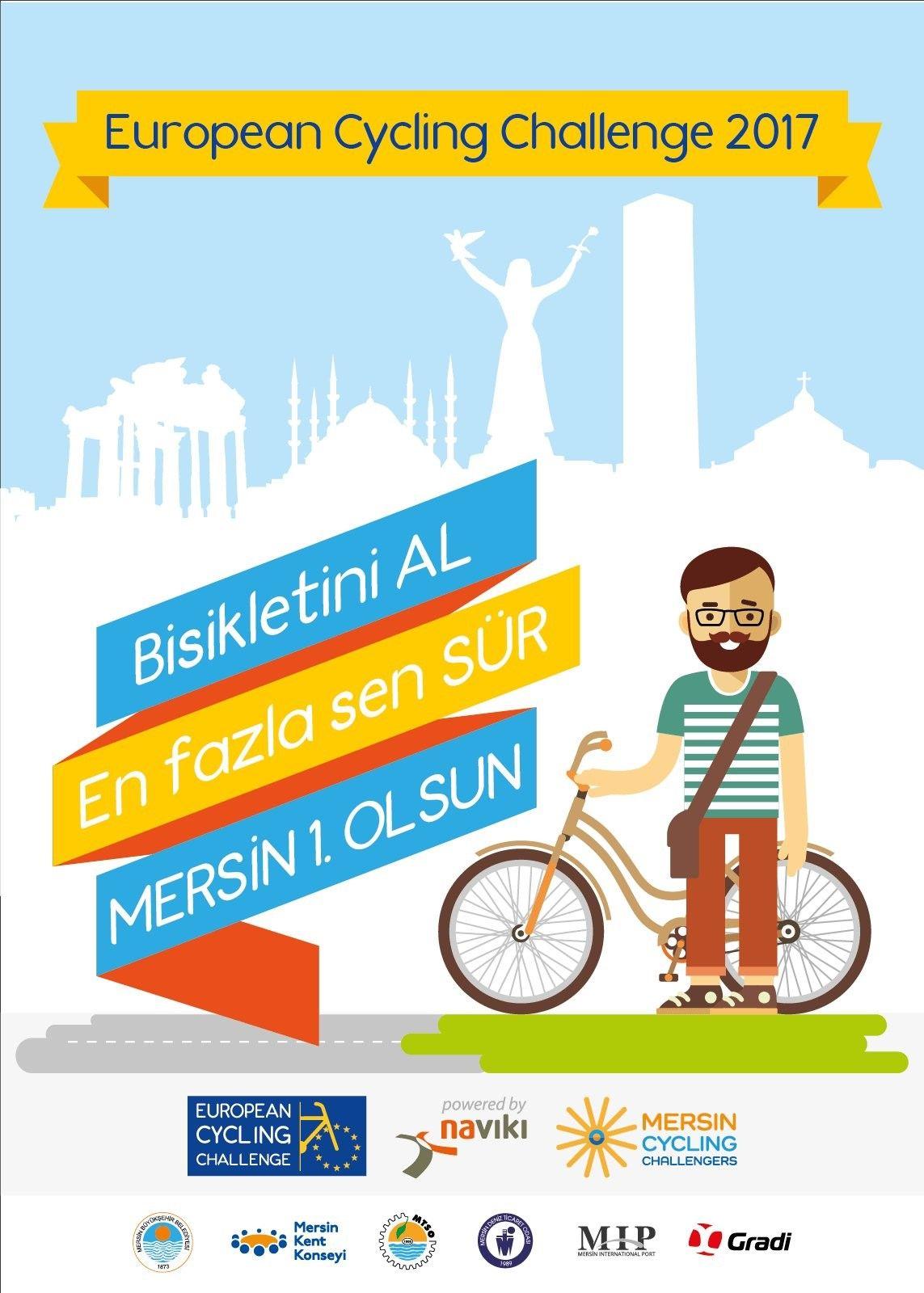 Mersin Kent Konseyi tarafından Avrupa Bisiklet Yarışması Bilgilendirme Toplantısı Yapıldı