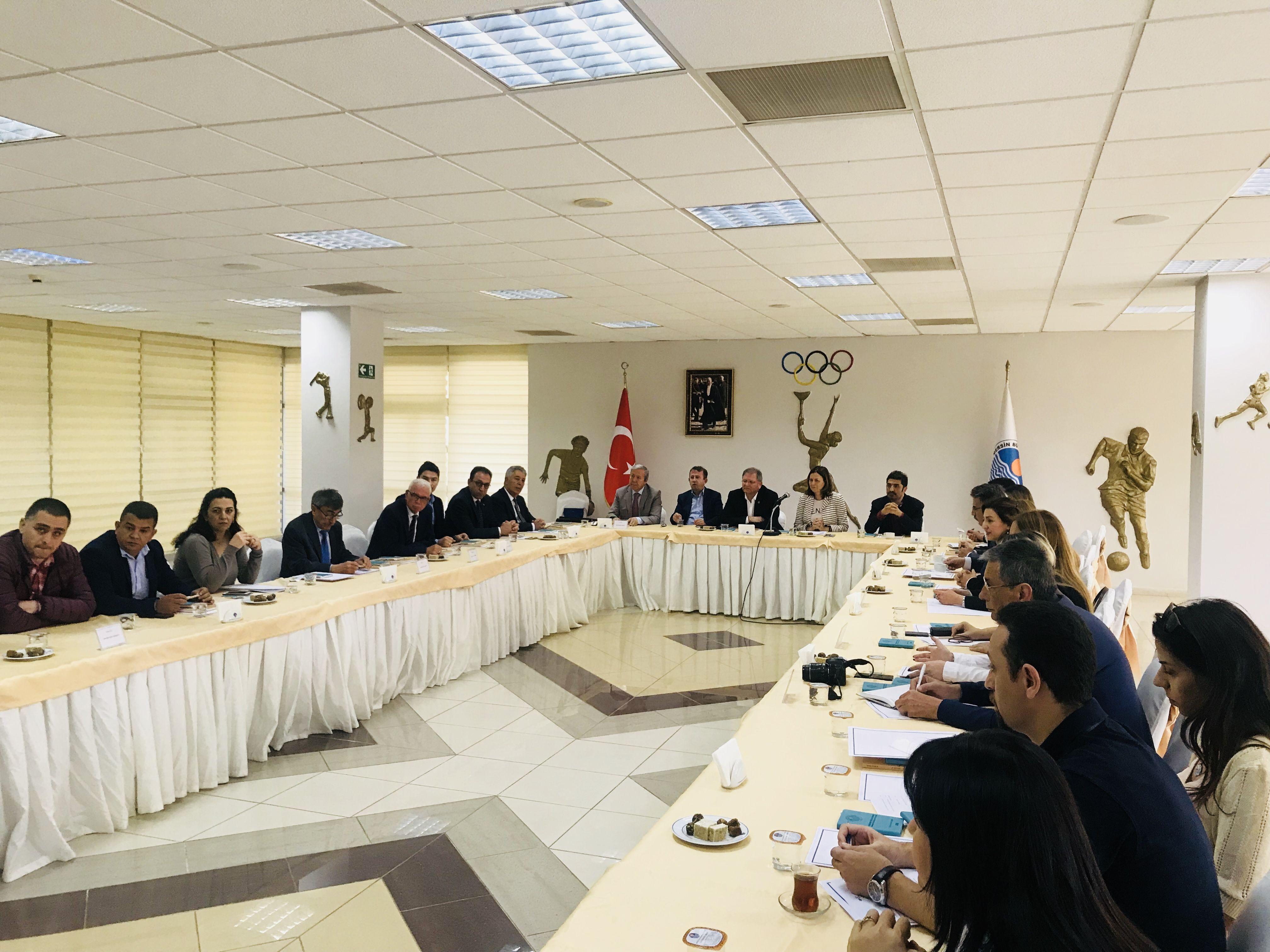 Akdeniz Bölgesinde Yer Alan Aktif Kent Konseylerinin Mersin Toplantısı